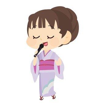 Singing singer