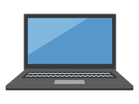 PC PC notebook edge black