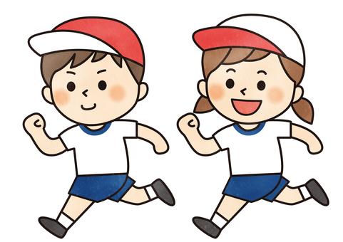달리는 아이들 (운동회)