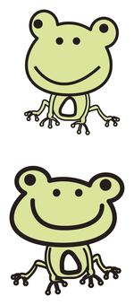 개구리 일러스트