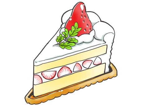 Simple short cake