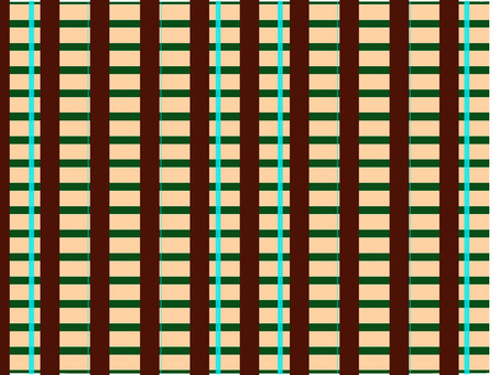 Chic and luxurious check pattern