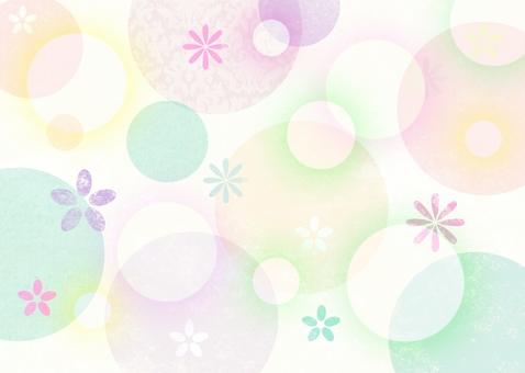 Soft circle card