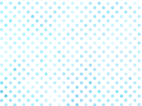 Water color dot light blue