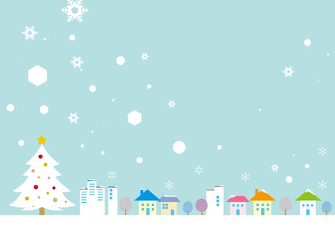 Townscape _ Winter Christmas