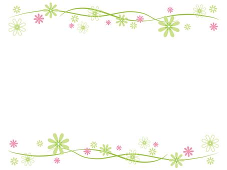 Flower frame 9