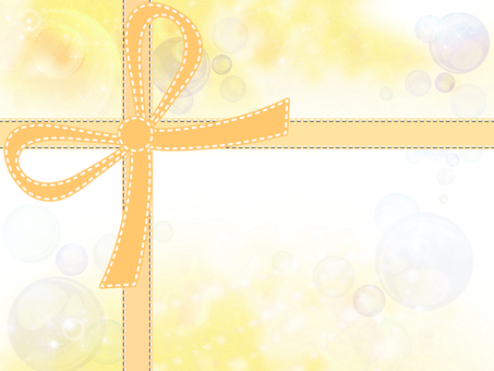 Frame with ribbon 04