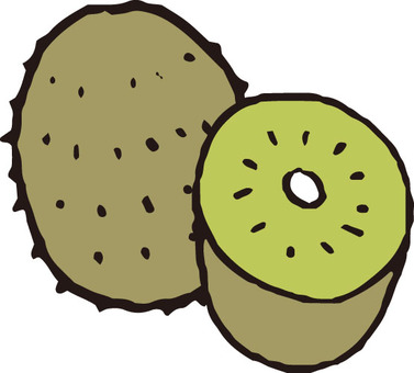 Fruit (kiwi · green)