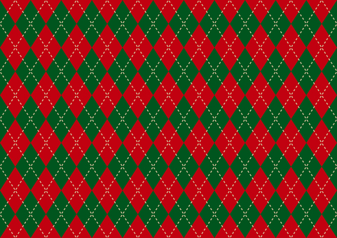 Christmas argyle background