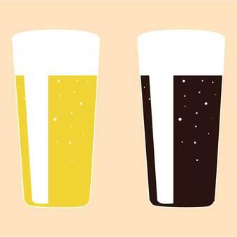 Beer and black beer