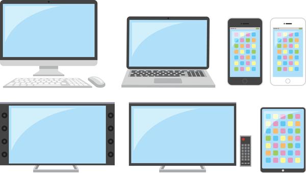 Personal computer · smartphone · tablet etc.