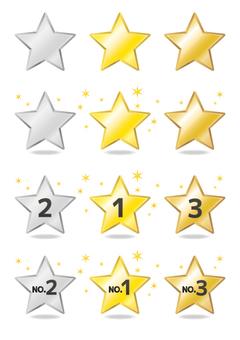 Ranking star set