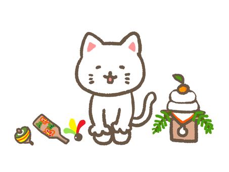 New Year cat