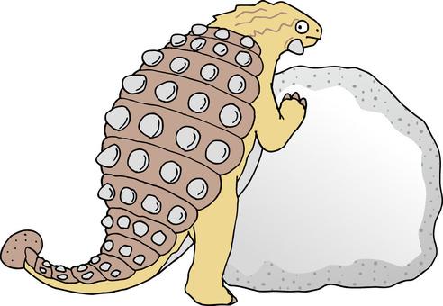 恐龍Ancilosaurus