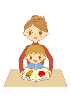 Mother and child _ picture book