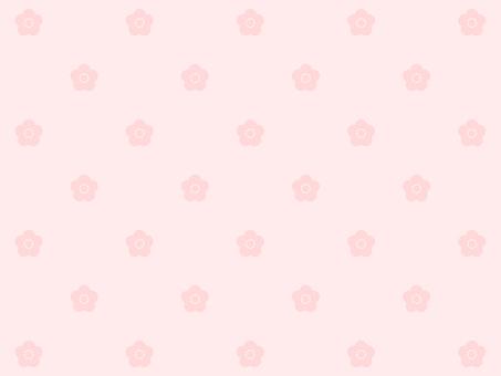 Plum blossom pattern background pink floral pattern