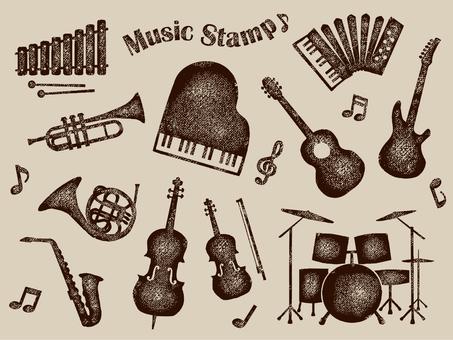 Instrument stamp