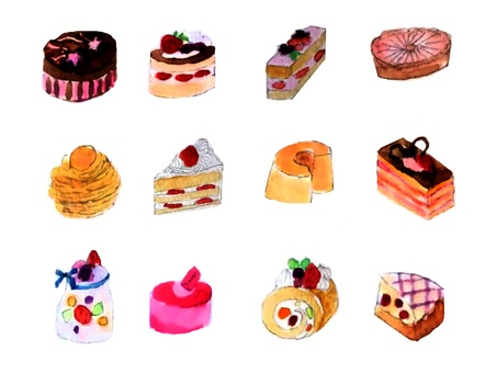 Various cakes · Part 2