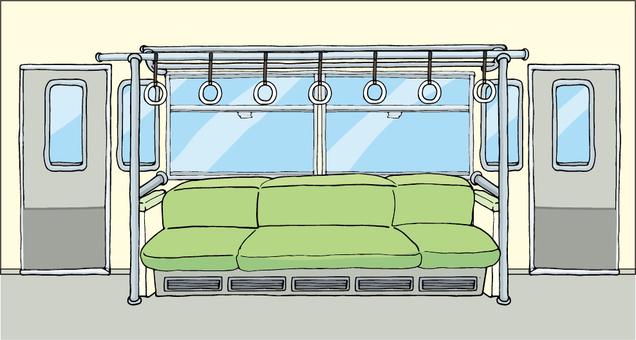 Train / car interior