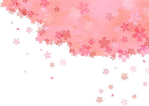 Spring cherry frame 7