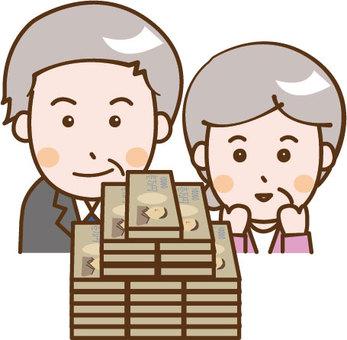 Retirement money couple