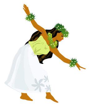 Hula Dance Hula Girl 04