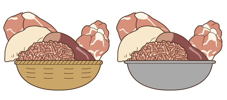 【Stuffing】 Meat (chicken)