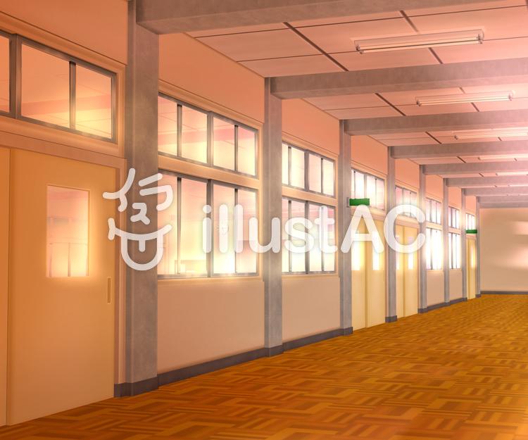 学校 廊下 教室
