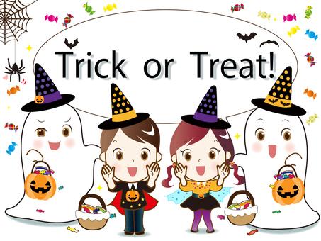 Halloween balloon ③ Trick or Treat