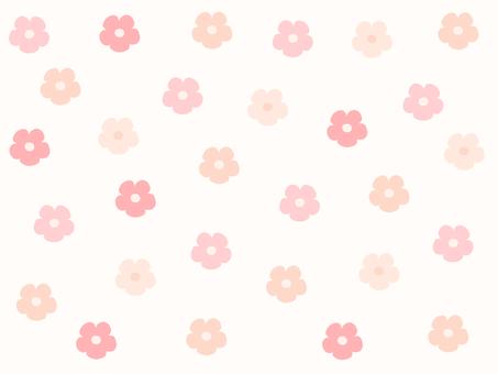 花包裝紙(薄橙色)