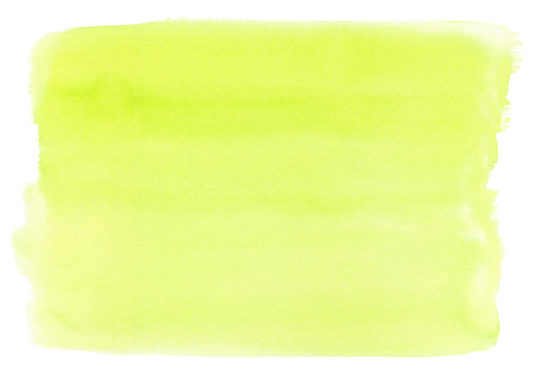 Watercolor background material Light green
