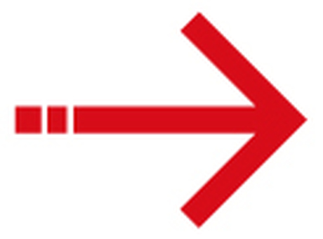 Single Line Arrow _ Red