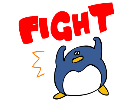 FIGHT penguin