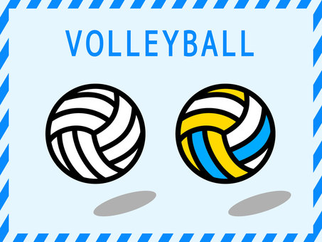 Volleyball illustration <1>