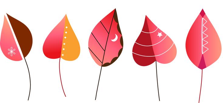 Fairy tale leaves