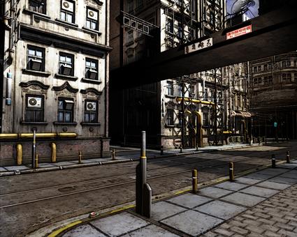 Urban CG Background A