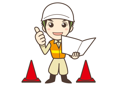 A006_ man of civil engineering construction management engineer