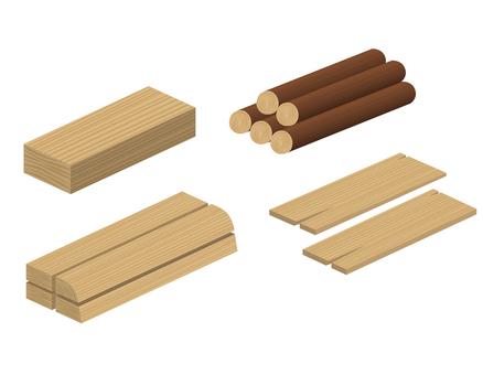 Log board