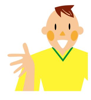 サッカー選手 サッカーコーチ イラスト