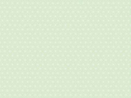 Hemp leaf pattern (white green)