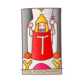 타로 카드 교황