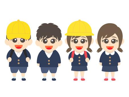 Primary school students 09