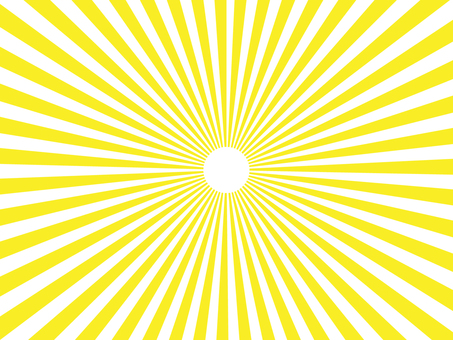 Yellow radiation background material