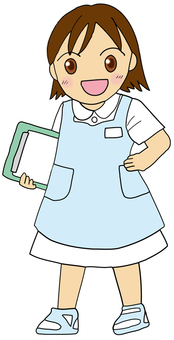 A young nurse