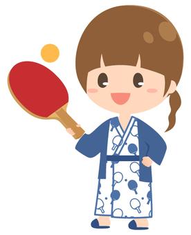 Hot Spring Table Tennis _ Girls