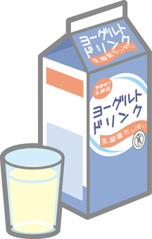 Drinking yogurt