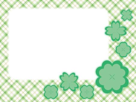 クローバー・メッセージカード