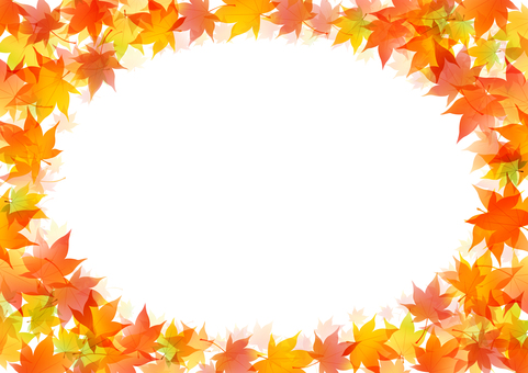 Autumn maple frame 6