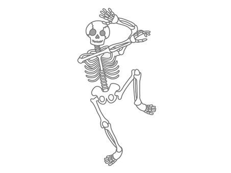 踊るガイコツ2