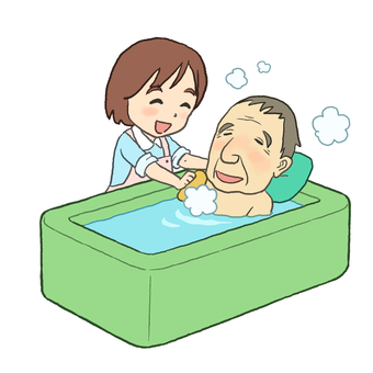 Nursing care bath